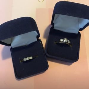 Jewelry - Gold & Diamond wedding rings